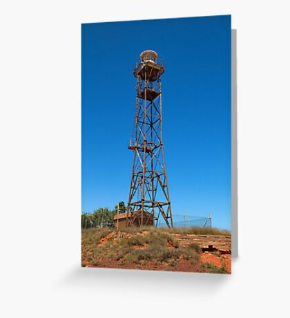 Gatheaume Point , Lighthouse. W.A Greeting Card