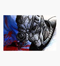 Garrus Vakarian - Second Thoughts Photographic Print
