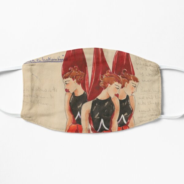 Afford costume designs: Sturt Desert Pea, 1935-1936 Flat Mask