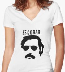 Escobar Women's Fitted V-Neck T-Shirt