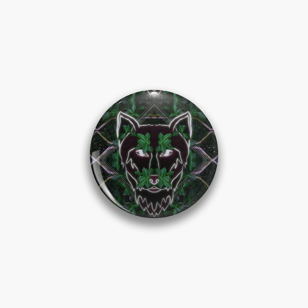 Wolf in the Shadows Pin