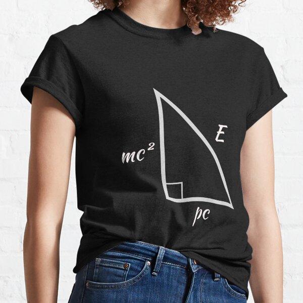 Energy-Mass-Momentum Pythagorean Triangle Classic T-Shirt