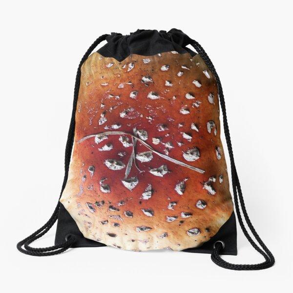 Diamonds on mushroom Drawstring Bag