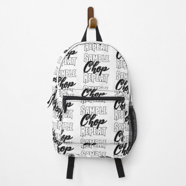 Sample Chop Repeat - Music Producer Design Backpack