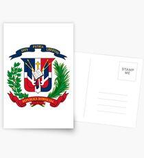 Armoiries de la République Dominicaine Cartes postales