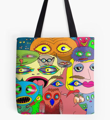 I think the eyes have it! Tote Bag