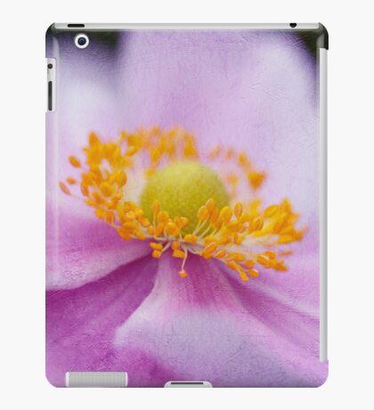 Pink Anemone Macro iPad Case/Skin
