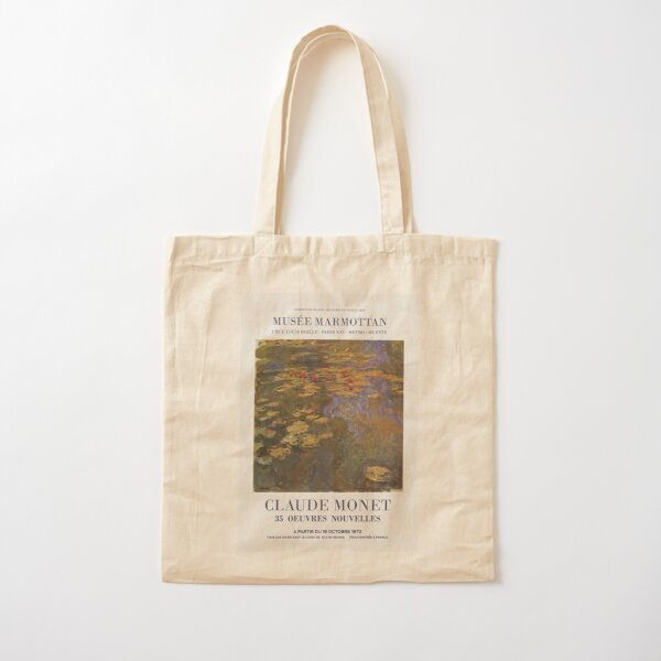 Monet artwork Cotton Tote Bag