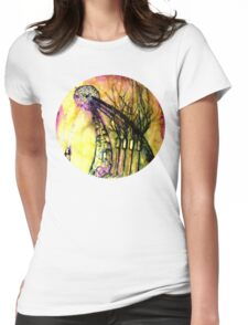sculpting the earth  Womens Fitted T-Shirt