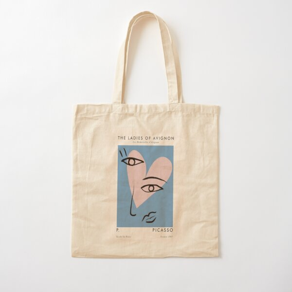 Picasso artwork Cotton Tote Bag