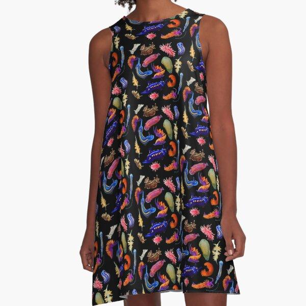 Nudibranchia A-Line Dress