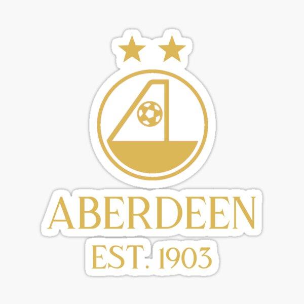 Aberdeen Gold Sticker