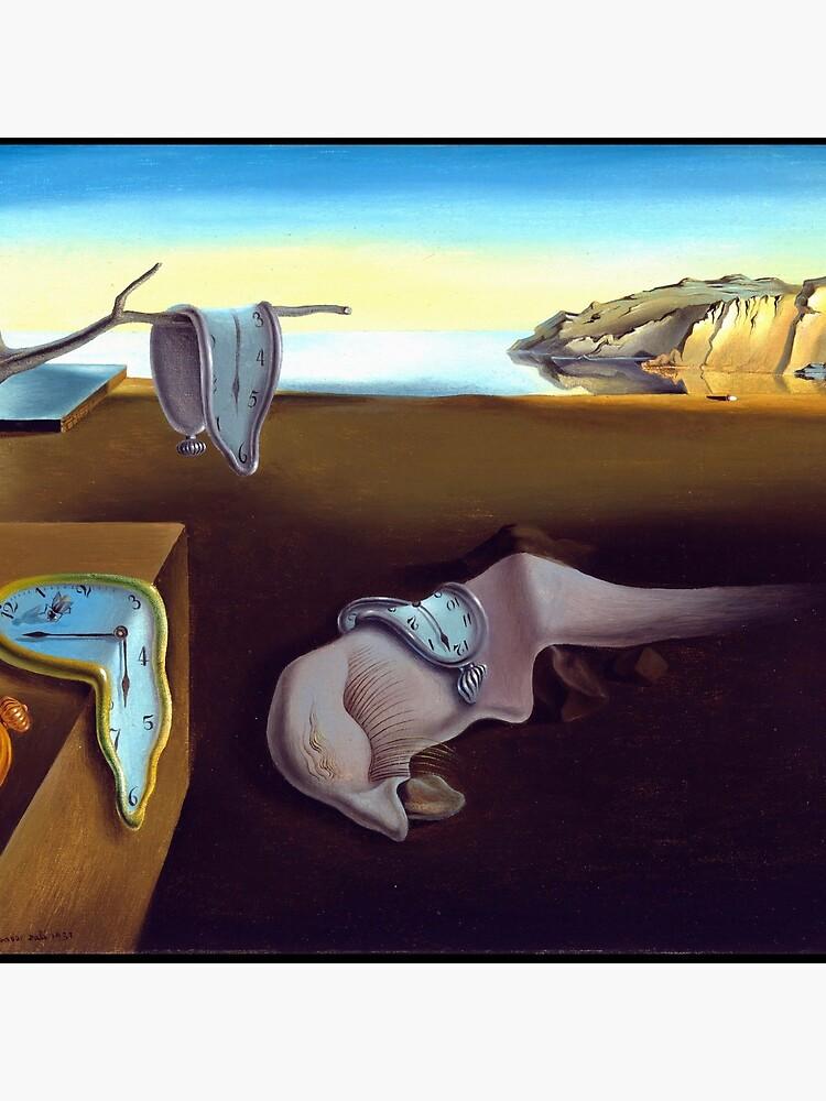 Salvador Dali The Persistence of Memory 1931 Artwork, Wall Art, Prints, Posters, Tshirts, Men, Women, Kids by clothorama