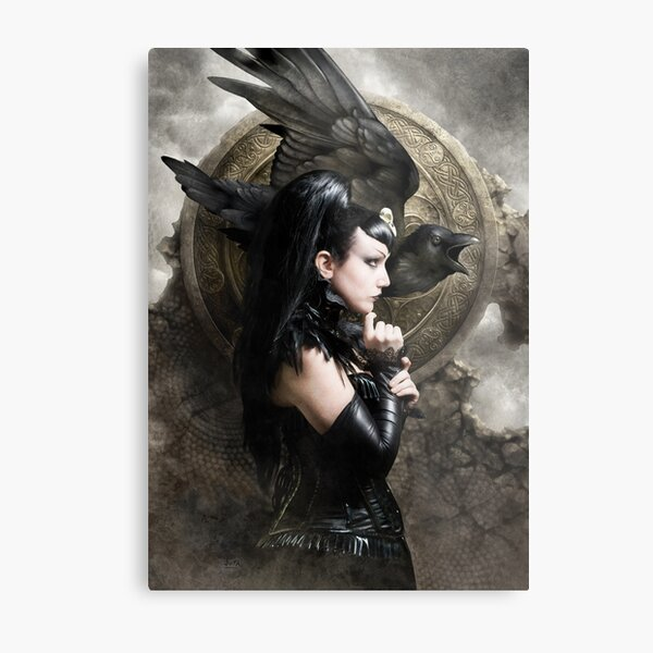 The Morrigan Metal Print