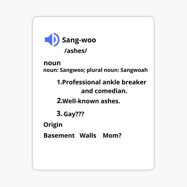 Sangwoo's Definition Sticker