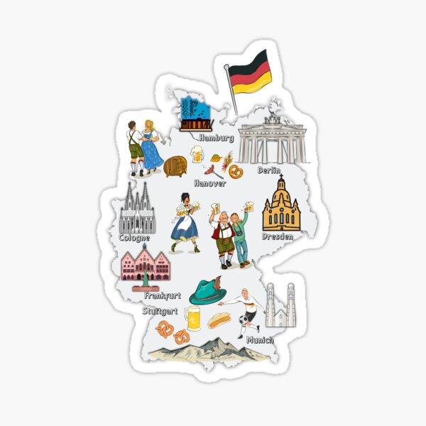 Stuttgart FC Germany Europe Soccer Football Art Decal Bumper Vinyl Sticker