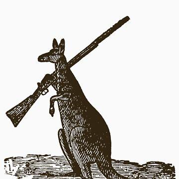 Kangaroo Shotgun by jimmyraynes