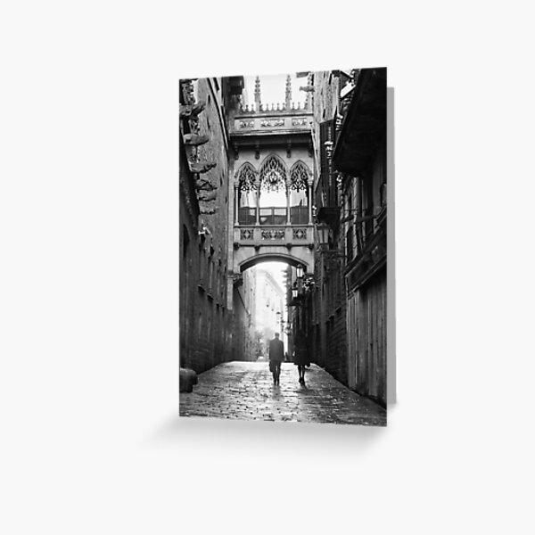 Barri Gotic, Barcelona Greeting Card