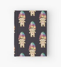Rainbow Troll Hardcover Journal