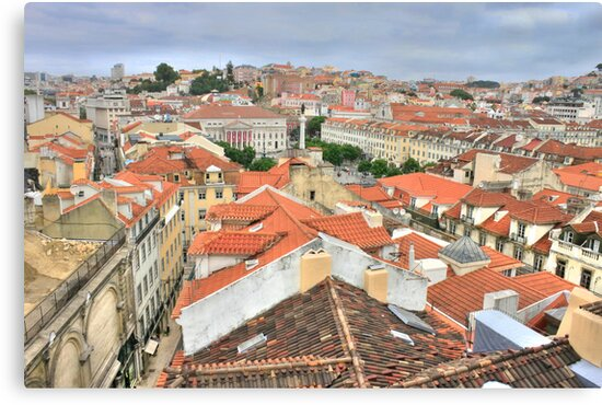 Lisbon from the roof by terezadelpilar ~ art & architecture