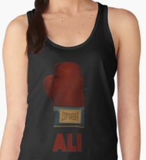 Ali Boxing Glove for Peace Poster Women's Tank Top