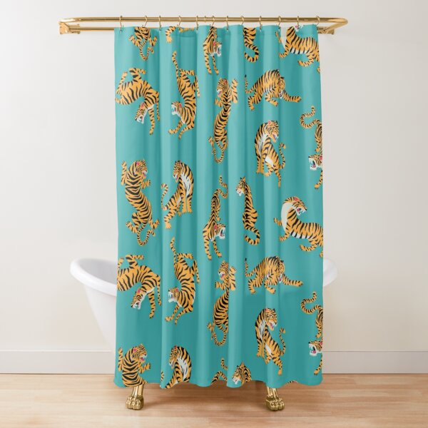 Bengal tigers Shower Curtain