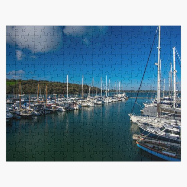 Boats at Mylor Harbour Jigsaw Puzzle