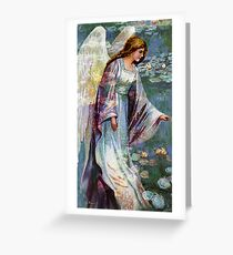 GUIDE GUARDIAN AND MESSENGER Greeting Card