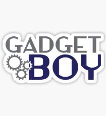 Gadget Boy Sticker