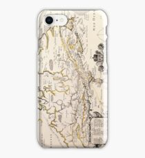 Antique Vintage Map of Canada Circa 1655 iPhone Case/Skin