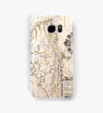 Antique Vintage Map of Canada Circa 1655 Samsung Galaxy Case/Skin