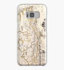 Antique Vintage Map of Canada Circa 1655 Samsung Galaxy Case/Skin
