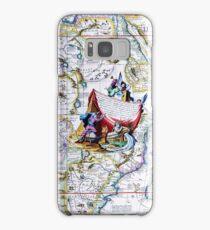 Antique Vintage Map of Africa Samsung Galaxy Case/Skin
