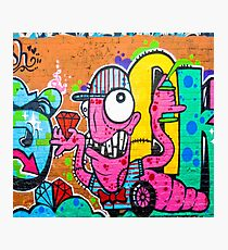 Monster graffiti Photographic Print