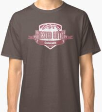 Crested Butte Colorado Ski Resort Classic T-Shirt