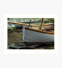 Little clinker boat Art Print