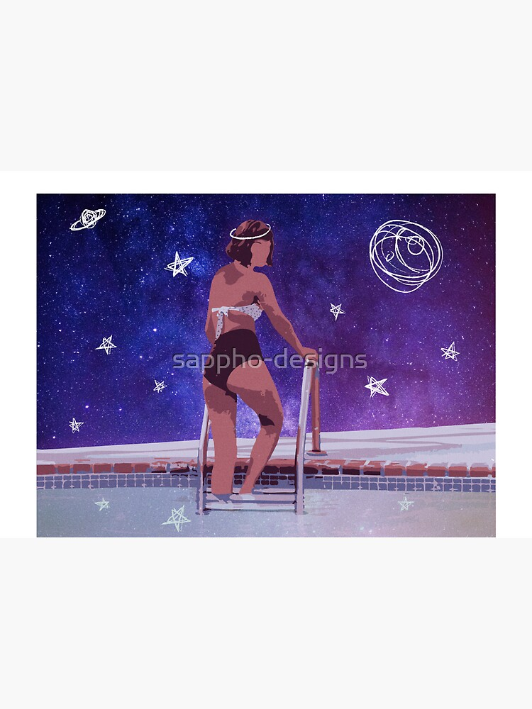 celestial womxn | graphic print by sappho-designs