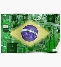 circuit board Brazil Poster