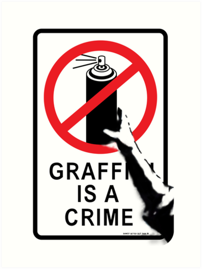 is graffiti an art or crime essay Graffiti art or vandalism writing essays: how to best get your argument across to readers.