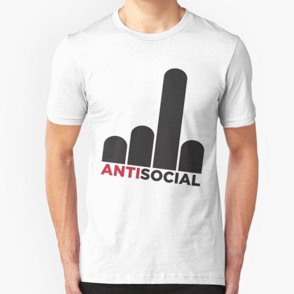 Antisocial Slim Fit T-Shirt