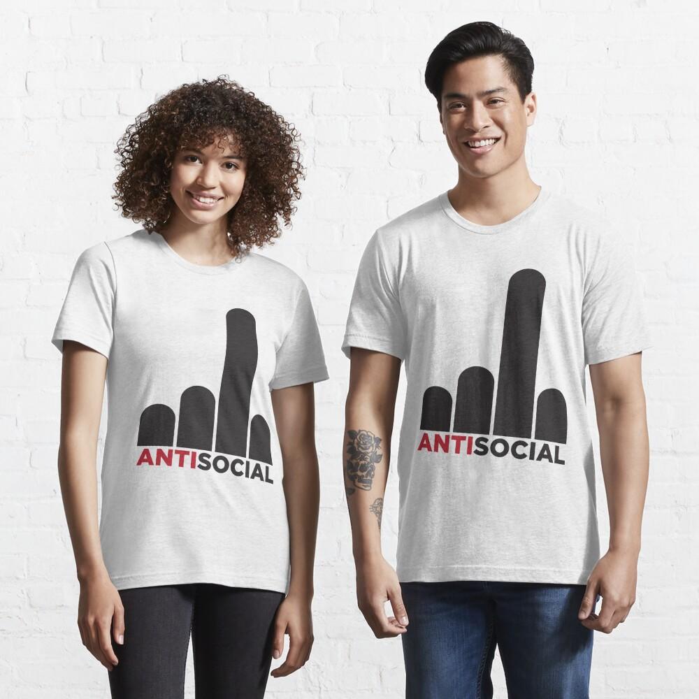 Antisocial Essential T-Shirt