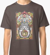 Stained Glass Forest Spirit Classic T-Shirt
