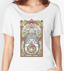 Stained Glass Forest Spirit Women's Relaxed Fit T-Shirt