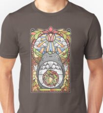 Stained Glass Forest Spirit Unisex T-Shirt
