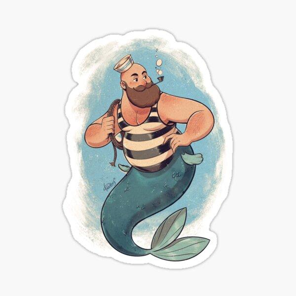 The striped sailor Sticker