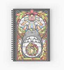 Cuaderno de espiral Vidriera Bosque Espíritu
