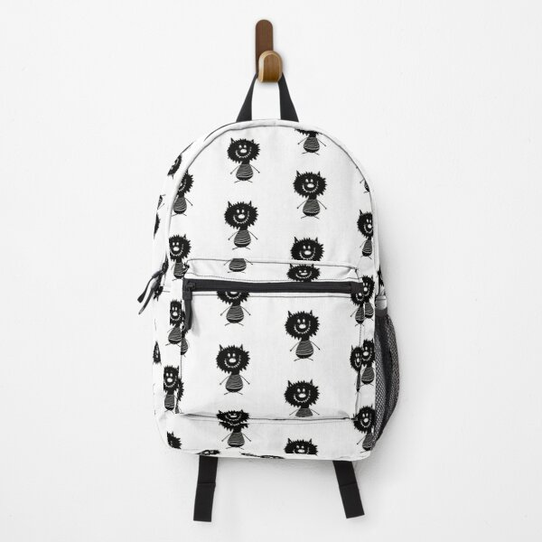Funny black and white creature nr24 Backpack