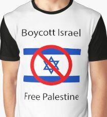 Boycott Israel Graphic T-Shirt