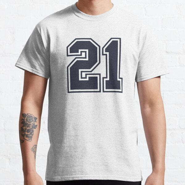 Number 21 Jersey T-Shirts | Redbubble