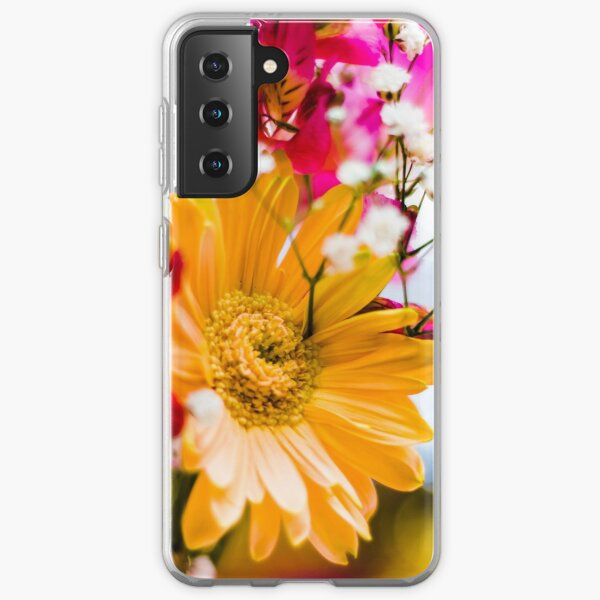 Flowers - Bold colors Samsung Galaxy Soft Case